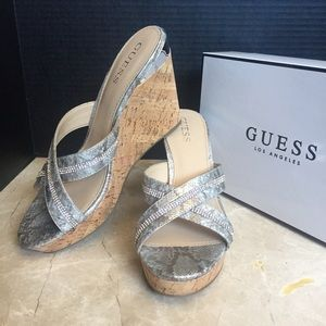Guess • EIENY Platform Wedge Slide